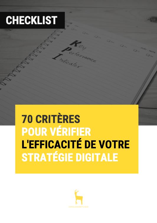 Checklist : 70 critères pour vérifier l'efficacité de votre stratégie digitale - {id=4, name='checklist', order=3}